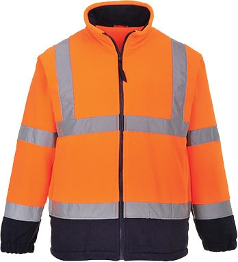 Portwest UF301 - Hi-Vis 2-Tone Fleece