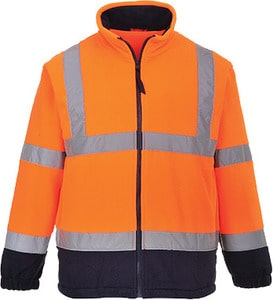 Portwest UF301 - Hi-Vis 2-Tone Fleece