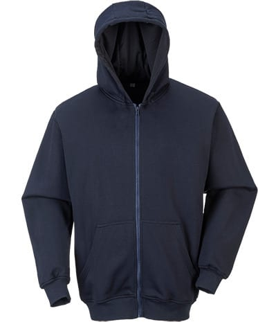 Portwest UFR81 - FR Hooded Zip Sweatshirt