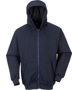 Portwest UFR81 - FR Hooded Zip Sweatshirt