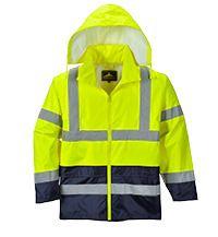 Portwest UH443 - Hi-Vis Contrast Rain Jacket
