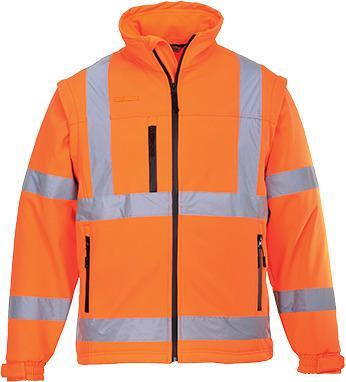 Portwest US428 - Hi-Vis Softshell Jacket