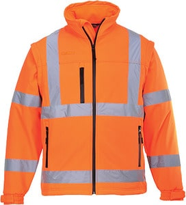 Portwest US428 - Hi-Vis Softshell Jacket