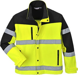 Portwest US429 - Two-Tone Softshell Jacket