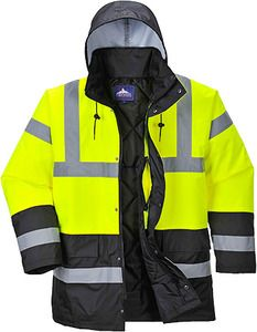 Portwest US466 - Hi-Vis Contrast Traffic Jacket