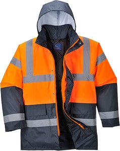Portwest US467 - Hi-Vis Contrast Traffic Jacket
