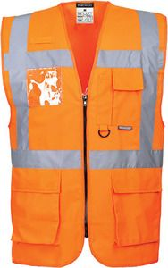 Portwest US476 - Berlin Executive Hi-Vis Vest