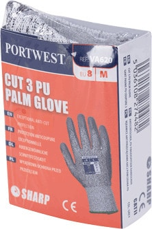 Portwest VA620 - LR Cut PU Palm Glove