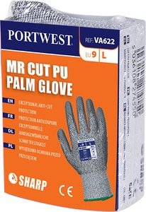 Portwest VA622 - MR Cut PU Palm Glove