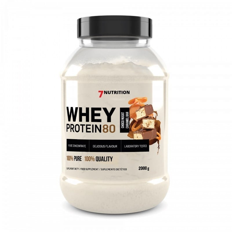 7 Nutrition 3802 - Whey Protein 80 2kg