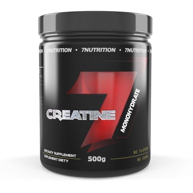 7 Nutrition 3898 - Créatine monohydrate Micronisée avec Taurine 500g
