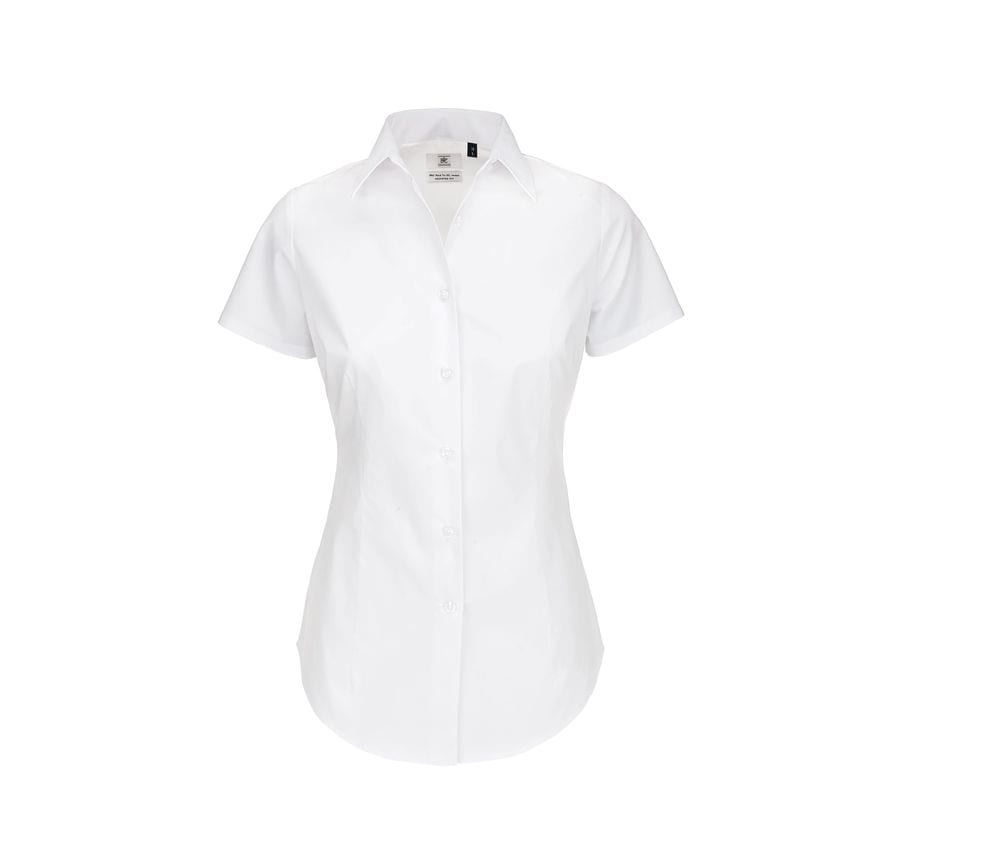 B&C BC713 - Stretch shirt woman