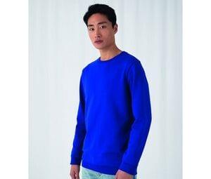 B&C BCU01W - Bluza z okrągłym dekoltem #