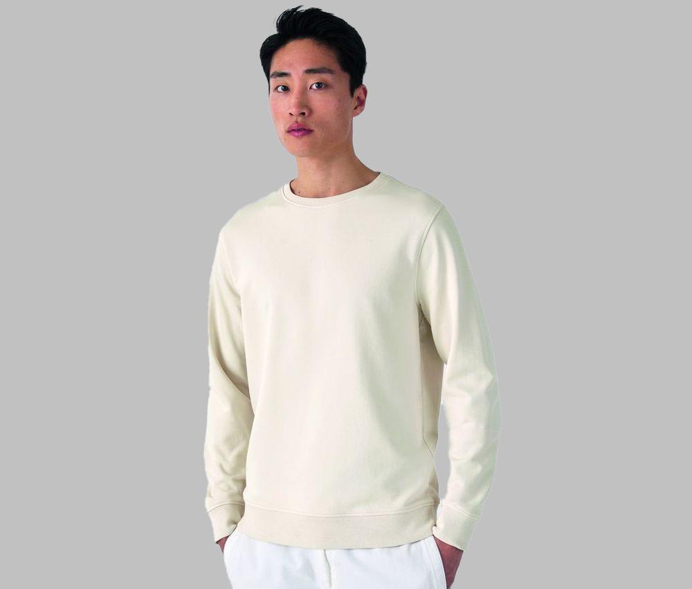 B&C BCU31B - Organic Round Neck Sweatshirt