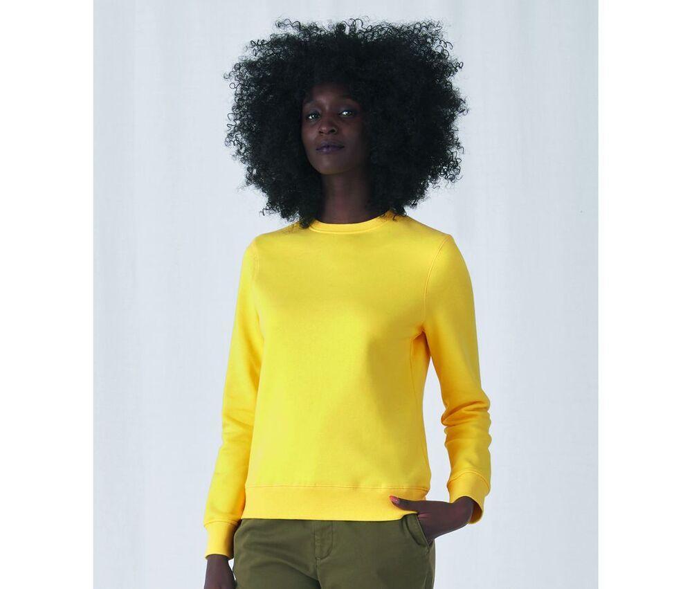 B&C BCW01Q - Straight Sleeve Sweatshirt 280 QUEEN
