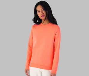 B&C BCW02W - Womens Round Neck Sweatshirt # woman