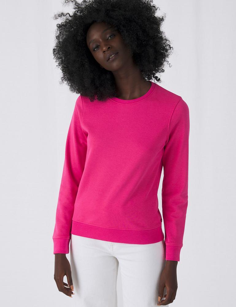 B&C BCW32B - Women's Organic Round Neck Sweatshirt
