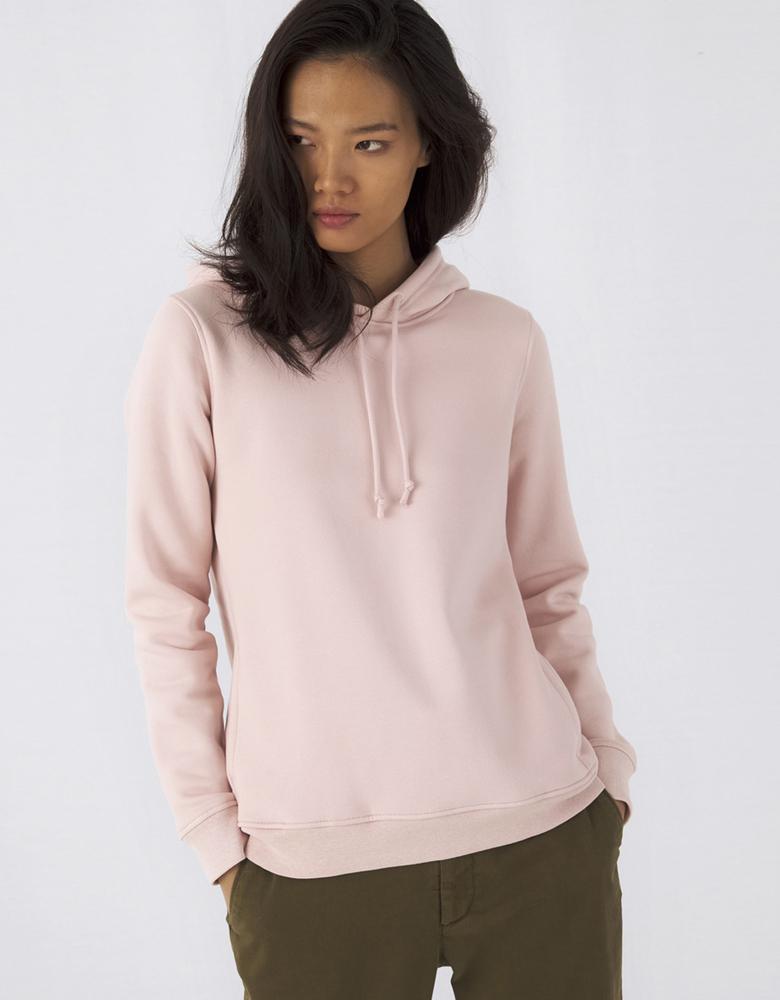 B&C BCW34B - Women's organic hoodie