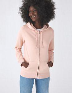 B&C BCW36B - Womens Organic Zipped Hoodie
