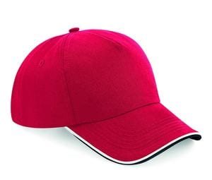 Beechfield BF025C - Authentic Cap visor passpoilée