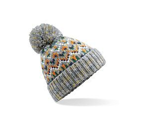 Beechfield BF458 - Beanie with Blizzard Pompon