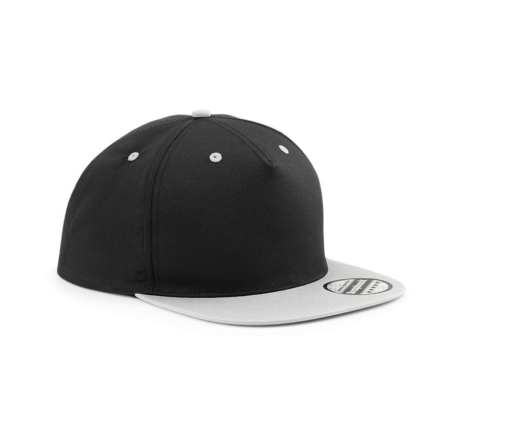 Beechfield BF610C - 5-sided cap with contrasting visor