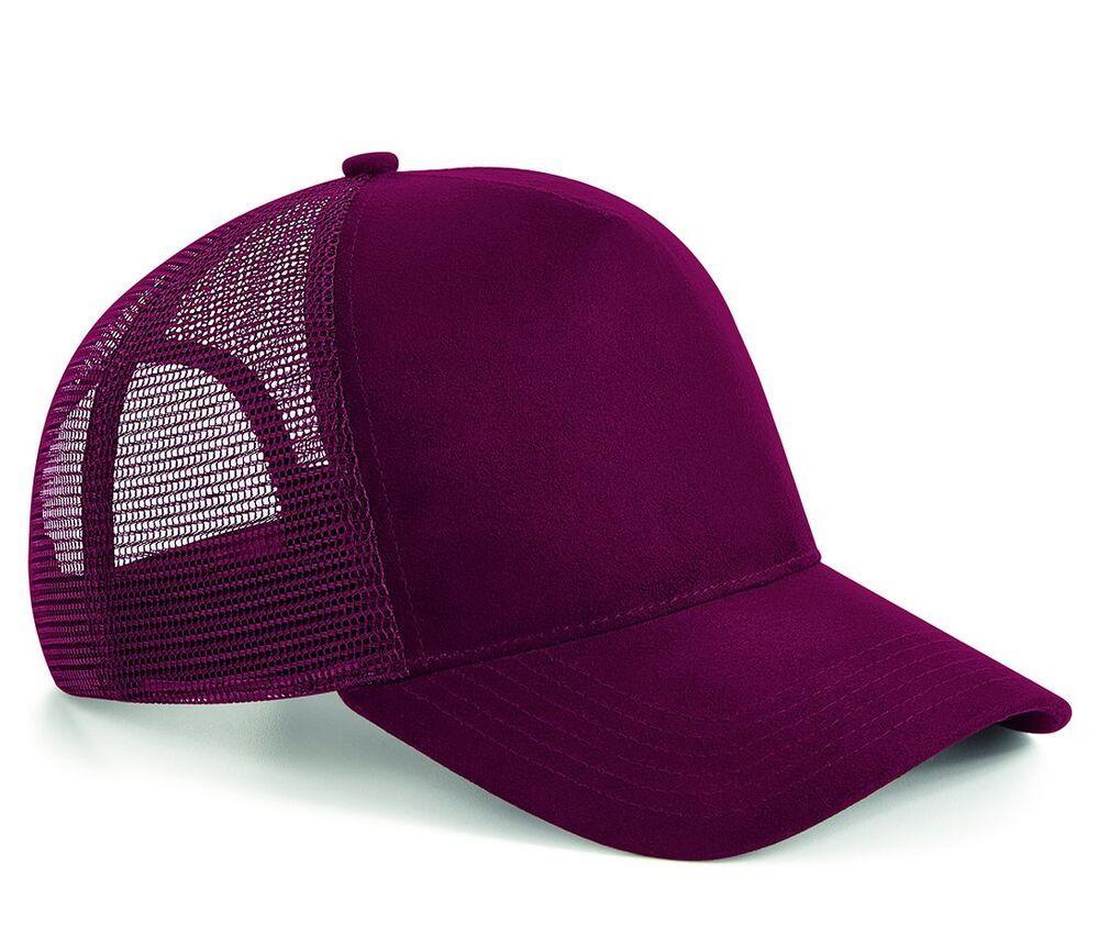 Beechfield BF643 - Suede mesh cap