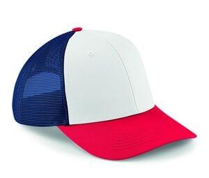 Beechfield BF647 - Sześciokątna czapka z siatki