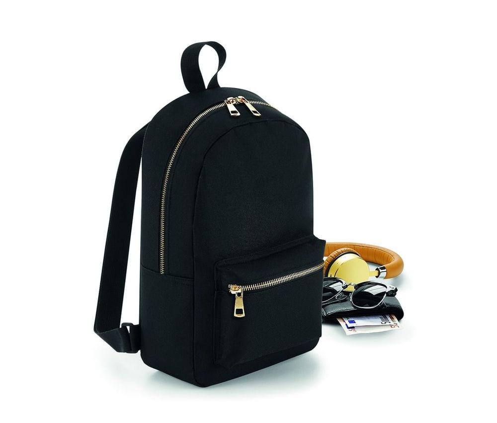 Bagbase BG233 - Mini backpack with metal zip closure