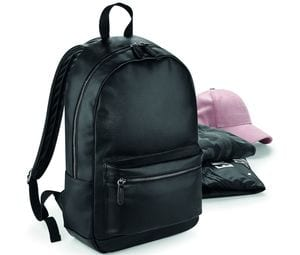 Bagbase BG255 - Trendy imitation leather backpack