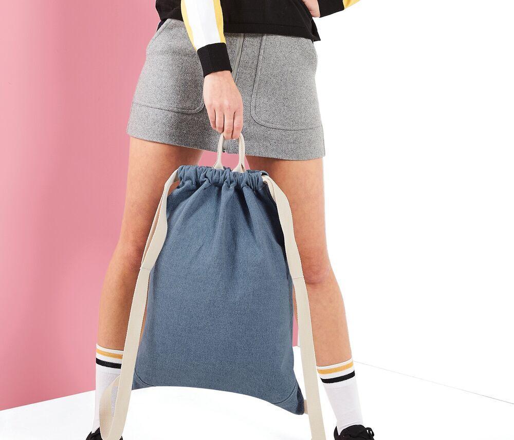 Bagbase BG642 - Denim gym bag