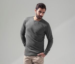Build Your Brand BY010 - Lightweight crew neck sweatshirt
