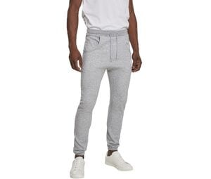Build Your Brand BY013 - wide jogging pants crotch