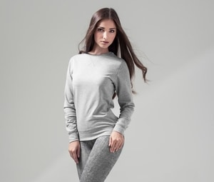 Build Your Brand BY025 - Sweat lightweight crew neck woman