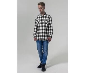 Build Your Brand BY031 - Flannel Shirt