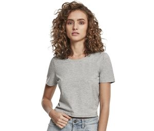 Build Your Brand BY042 - T-shirt femme cropped