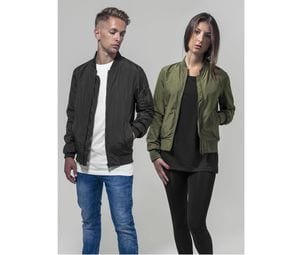 Build Your Brand BY044 - Chaqueta bomber para mujer BY044