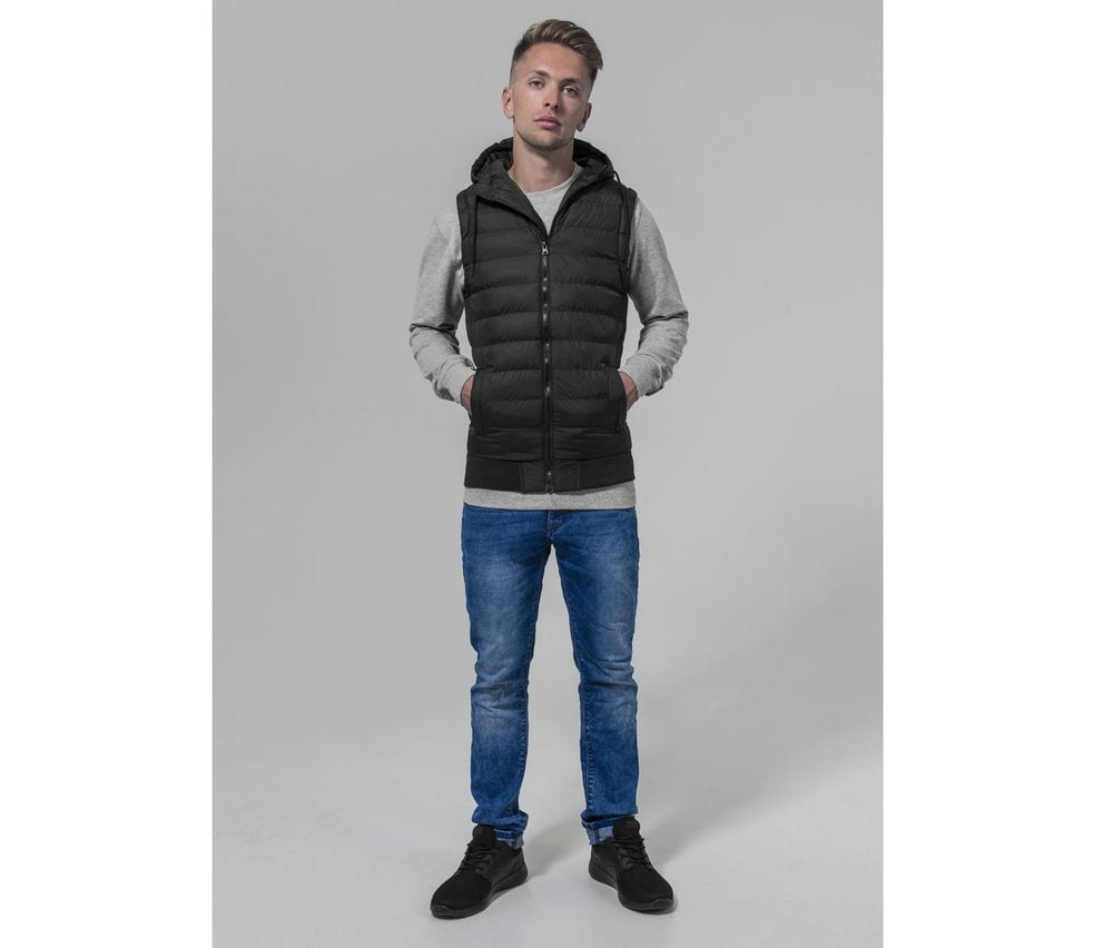 Build Your Brand BY046 - Hooded Bodywarmer