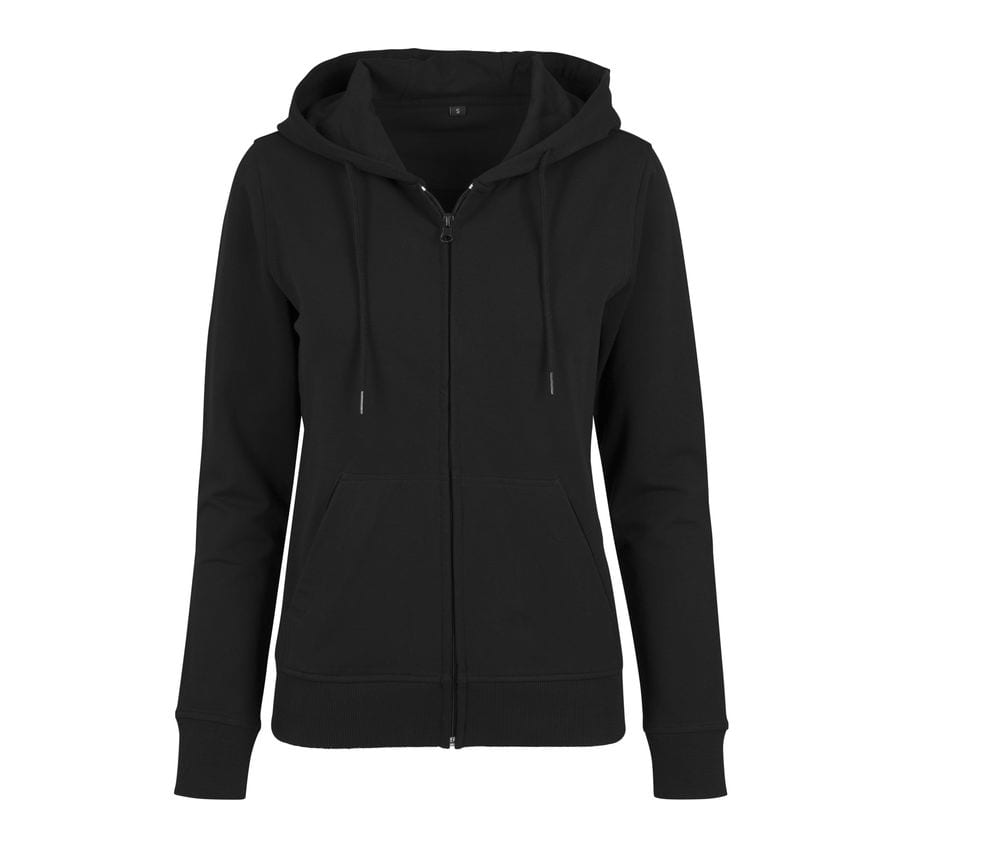 Build Your Brand BY069 - Zip Pullover woman
