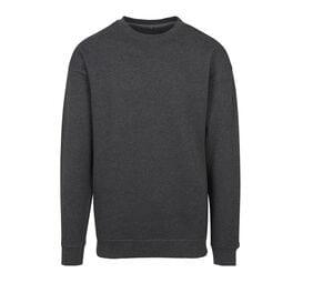 Build Your Brand BY075 - Round Neck Sweatshirt man