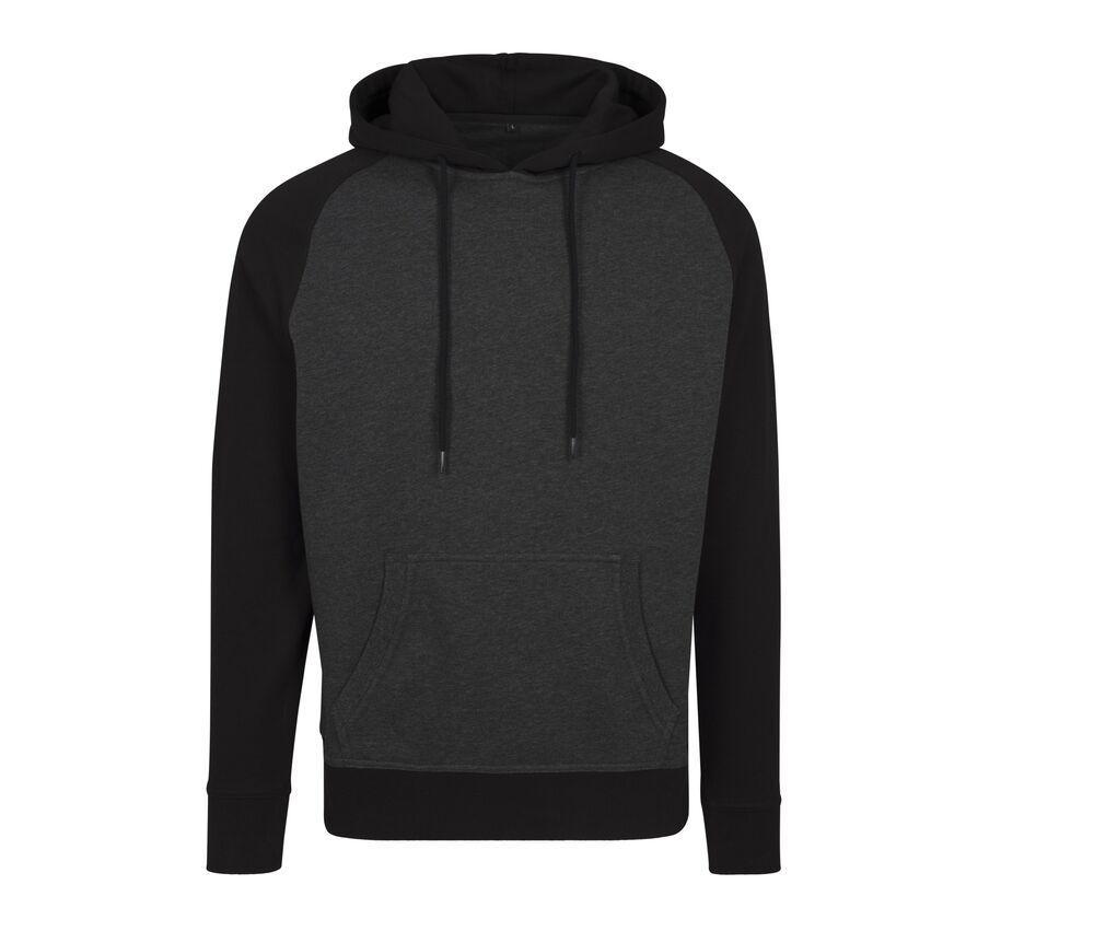Build Your Brand BY077 - Hoodie Sweatshirt Raglan