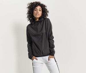 Build Your Brand BY095 - 1/4 zip jacket woman