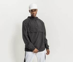 Build Your Brand BY096 - Mens 1/4 zip jacket