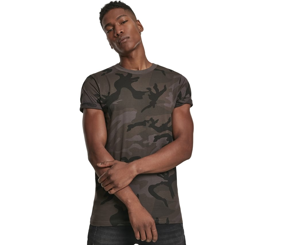 Build Your Brand BY109 -  Camouflage T-shirt