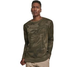 Build Your Brand BY110 - Round neck camouflage Sweat