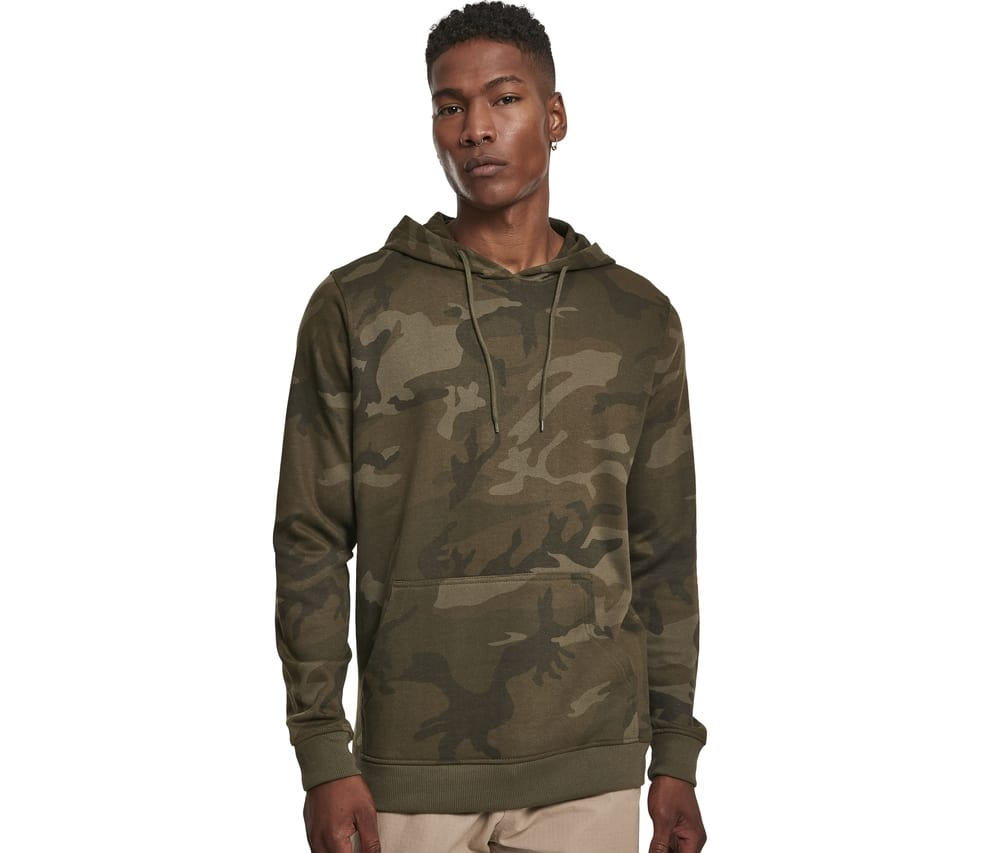 Build Your Brand BY111 - Camouflage Hoody