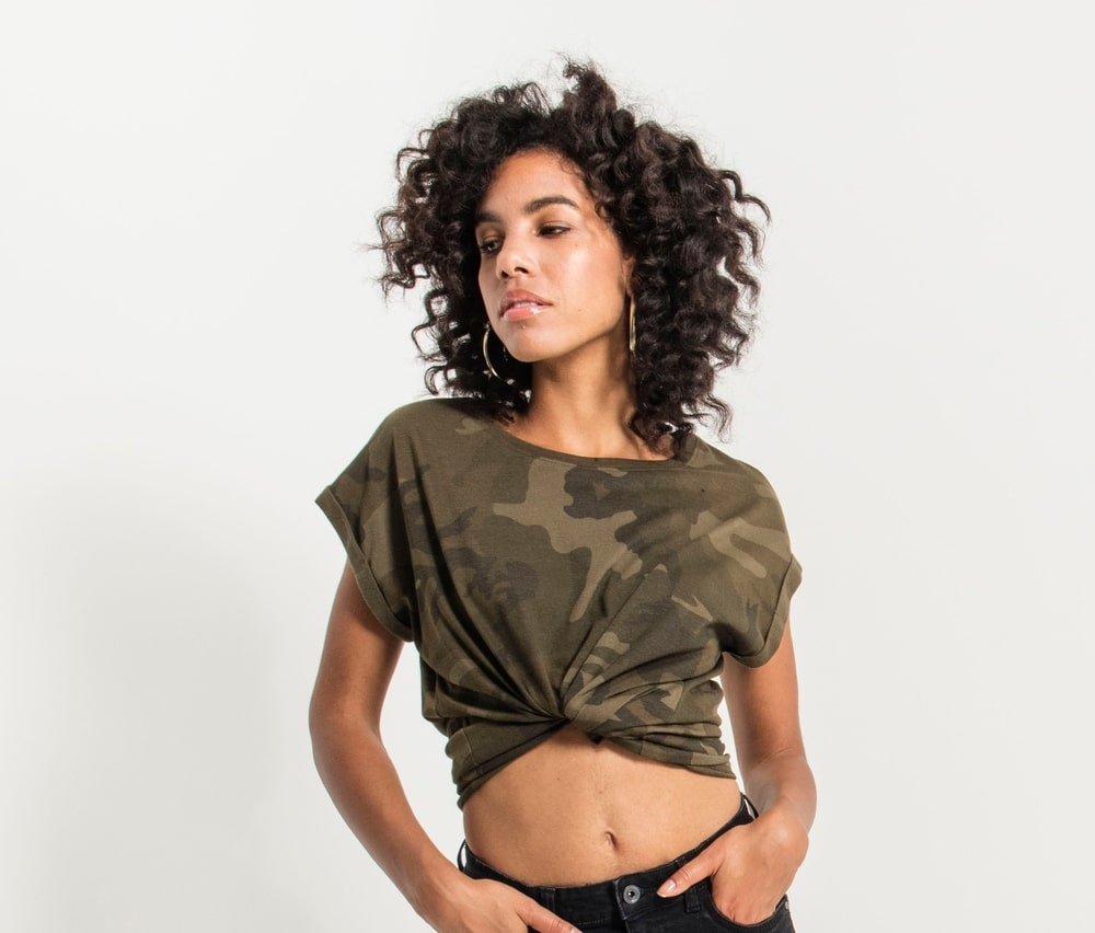 Build Your Brand BY112 - Ladies' Camouflage