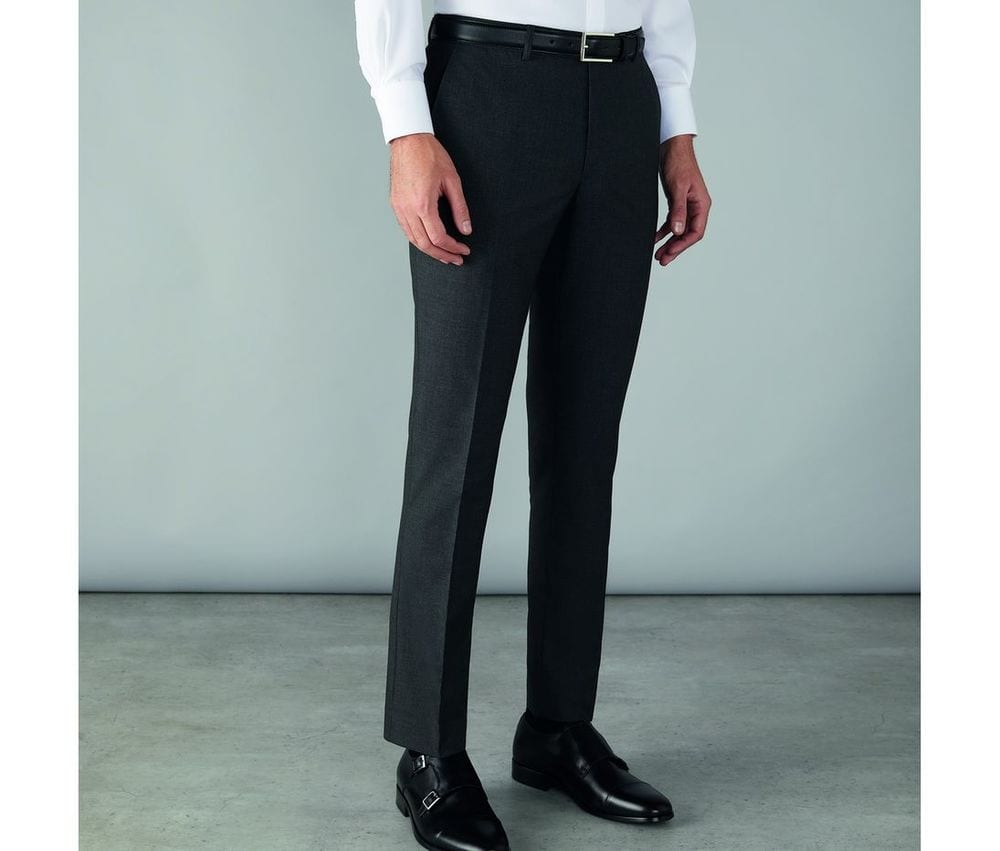 CLUBCLASS CC1003 - Edgware Men's Slim Fit Suit Pants