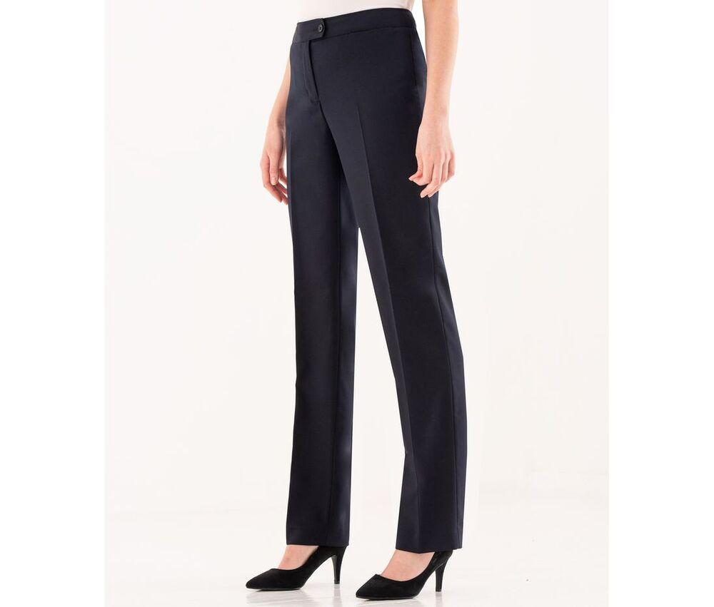 CLUBCLASS CC3007 - Women's tailor's trousers Regent
