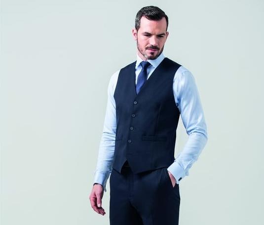 CLUBCLASS CC6004 - Bond men's suit vest